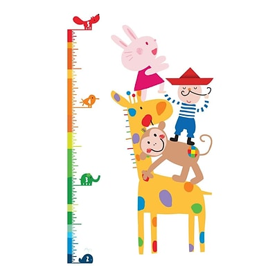 RoomMates Peel and Stick Wall Decal, Lazoo Growth Chart