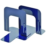 MMF Industries™ STEELMASTER® Soho Collection 5 Economy Bookend, Blue