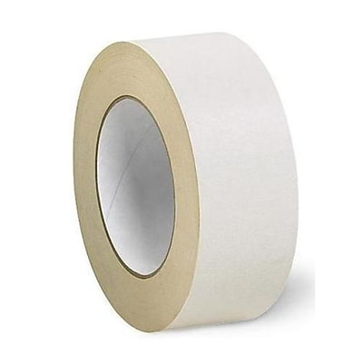 Intertape® #592 2 x 36 yds. Double-Coated Crepe Tape, Beige, 24/Pack