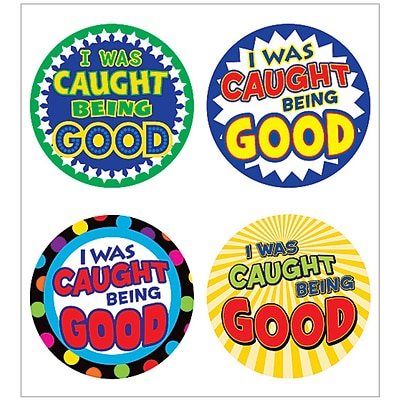 Teacher Created Resources I Was Caught Being Good Wear Em Badge (TCR5469)