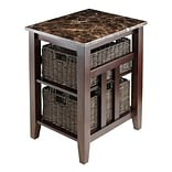 Winsome 7632 Side Table, Brown, Each (76320)