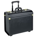 U.S. Luggage™ Leather-Look Vinyl Rolling Catalog Case