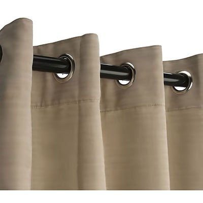RoomDividersNow 9 x 10 Fabric Room Divider Curtain, Wheat