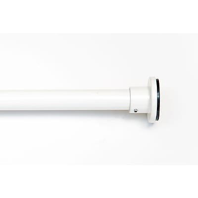 RoomDividersNow 66 - 120 Tension Curtain Rod; White