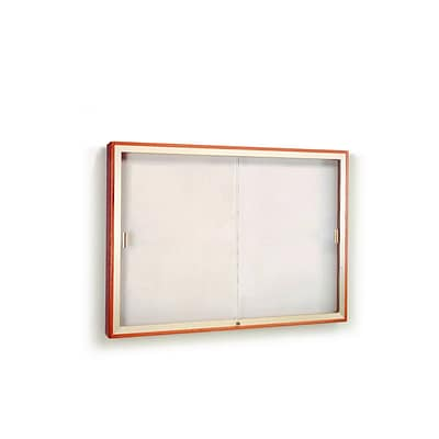 Waddell 48 x 72 Plaque & Aluminum Display Case, 36 x 72