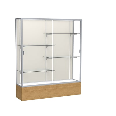 Waddell 72 x 60 Wood & Glass Display Case, Autumn