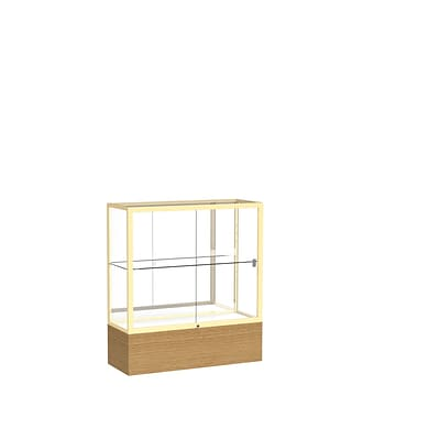 Waddell 40 x 36 Metal & Glass Reliant Series Case, Autumn