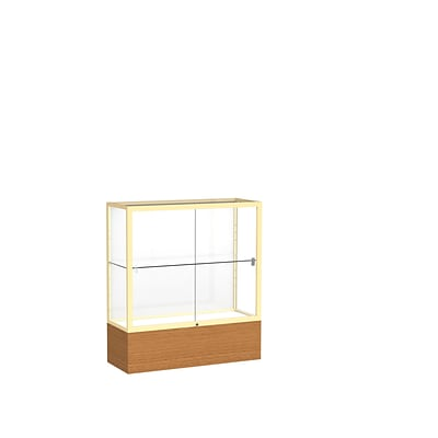 Waddell 36 x 40 Metal & Glass Reliant Series Case, Carmel