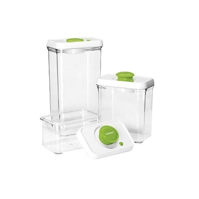 Conair® Cuisinart® 6 Piece Food Storage Containers; Green/Clear