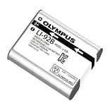 Olympus® Lithium-ion rechargeable camera battery with 1350 mAh capacity is designed for use with Oly