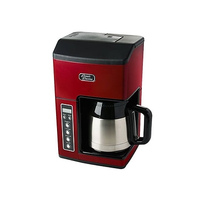 Cuisinart® 10 Cup Refurbished Thermal Grind & Brew Brewer; Red
