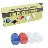 Trademark Games™ 6.5 Radial Chips, 100/Set