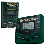 Trademark Games™ Electronic Handheld Las Vegas Style Blackjack Game, Green