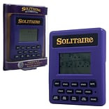 Trademark Games™ Electronic Handheld Solitaire Game, Purple