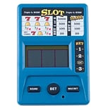 Trademark Games™ Electronic Handheld Slot Machine Game, Blue