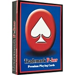 Trademark Poker™ Premium Poker Size Playing Cards, Red