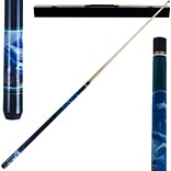 Trademark Games™ 2 Piece Pool Cue Stick With Case; Dolphin