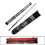 Trademark Games™ 2 Piece Designer Pool Cue Stick With Case; Ying Yang