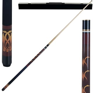 Trademark Games™ 2 Piece Pool Cue Stick With Case; Fantasy Dragon