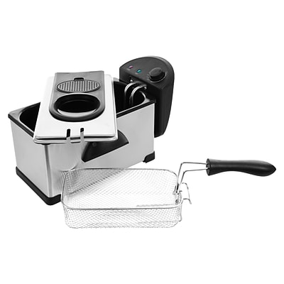 Chef Buddy™ Stainless Steel Electric Deep Fryer; 3.20 Quart