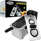 Trademark Chef Buddy™ Stainless Steel Electric Deep Fryer; 3.5 Liter