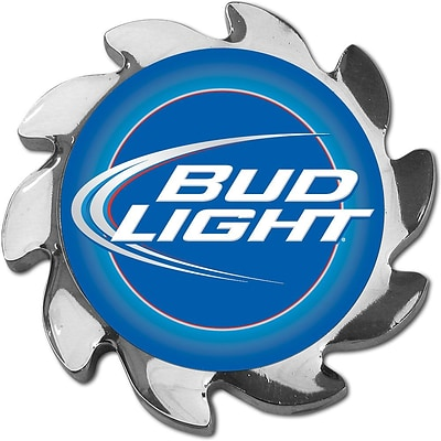 Trademark Bud Light® Spinner Card Cover, Silver