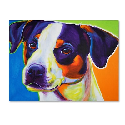 Trademark DawgArt Lady Baillee Gallery-Wrapped Canvas Art, 35 x 47
