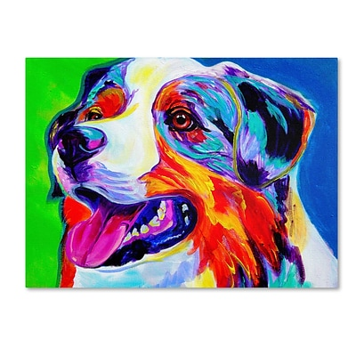 Trademark DawgArt Aussie Gallery-Wrapped Canvas Art, 35 x 47