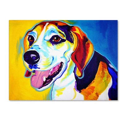 Trademark DawgArt Lou Gallery-Wrapped Canvas Art, 24 x 32