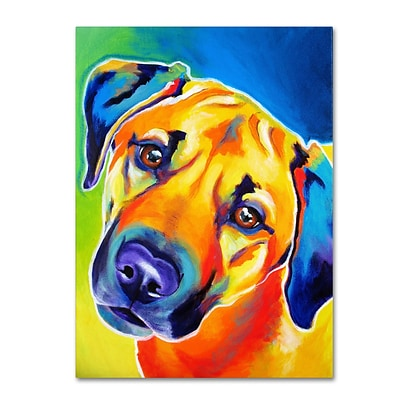 Trademark DawgArt Lulu Gallery-Wrapped Canvas Art, 35 x 47