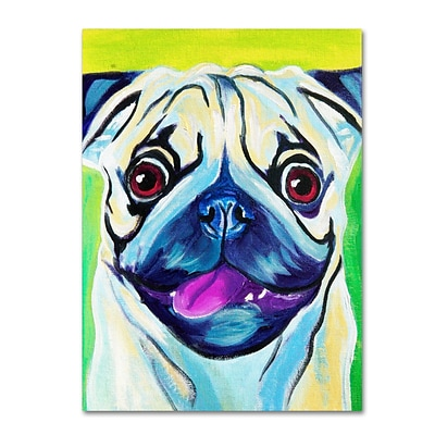 Trademark DawgArt Pugilicious Gallery-Wrapped Canvas Art, 24 x 32