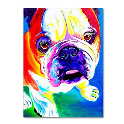 Trademark DawgArt Stanley Gallery-Wrapped Canvas Art, 18 x 24