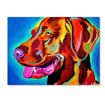 Trademark DawgArt Viszla Gallery-Wrapped Canvas Art, 18 x 24