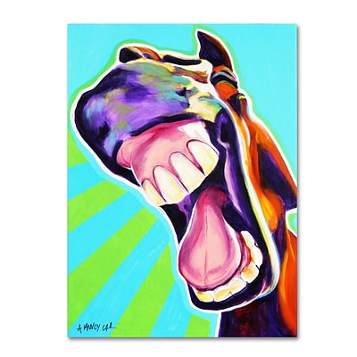 Trademark DawgArt Thats A Good One Gallery-Wrapped Canvas Art, 18 x 24