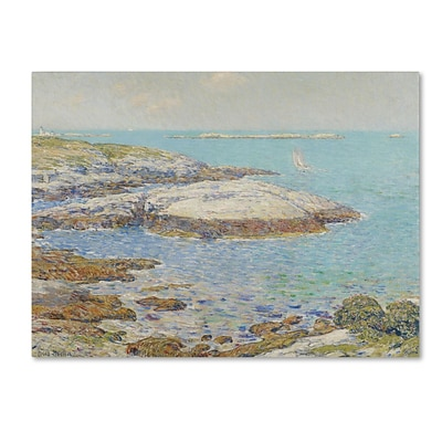 Trademark Childe Hassam Isles of Shoals 1899 Gallery-Wrapped Canvas Art, 18 x 24