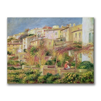 Trademark Pierre Renoir Terrace in Cagnes Gallery-Wrapped Canvas Art, 26 x 32
