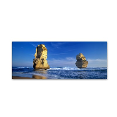 Trademark David Evans Apostles Gallery-Wrapped Canvas Art, 6 x 19