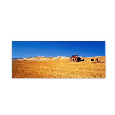 Trademark David Evans Burra Homestead-SA Gallery-Wrapped Canvas Art, 8 x 24