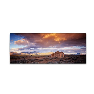 Trademark David Evans Edeowie-Flinders Ranges Gallery-Wrapped Canvas Art, 6 x 19