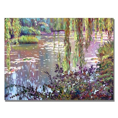 Trademark David Lloyd Glover Homage to Monet Gallery-Wrapped Canvas Art, 26 x 32
