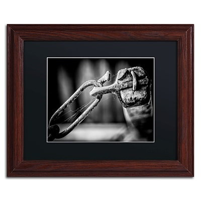 Trademark Erik Brede I Got You Babe Art, Black Matte W/Wood Frame, 11 x 14