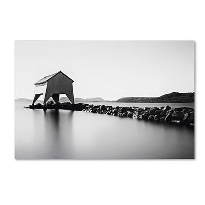 Trademark Erik Brede A Quiet Day at Hafrsfjord Gallery-Wrapped Canvas Art, 16 x 24