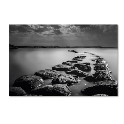Trademark Erik Brede Silent Water Gallery-Wrapped Canvas Art, 12 x 19