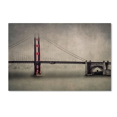 Trademark Erik Brede The Bridge Gallery-Wrapped Canvas Art, 30 x 47
