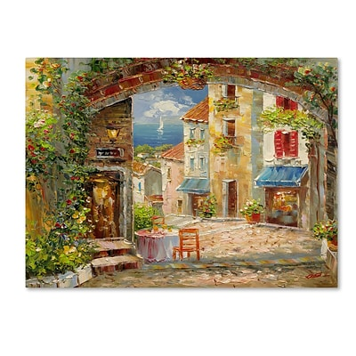 Trademark Rio Capri Isle Gallery-Wrapped Canvas Art, 35 x 47