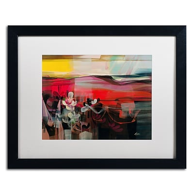 Trademark Andrea Amhaus II Art, White Matte With Black Frame, 16 x 20