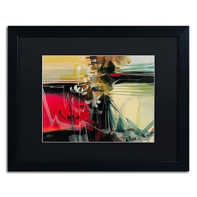 Trademark Andrea Amhaus III Art, Black Matte With Black Frame, 16 x 20