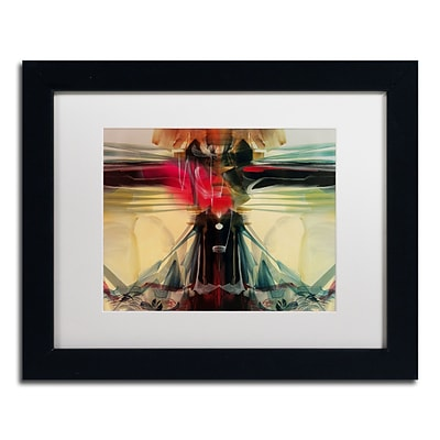Trademark Andrea Horizon Art, White Matte With Black Frame, 11 x 14