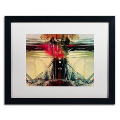 Trademark Andrea Horizon Art, White Matte With Black Frame, 16 x 20