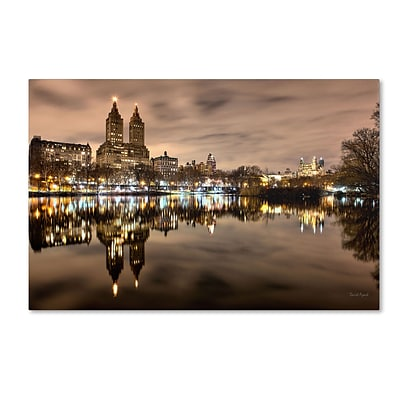 Trademark David Ayash Central Park West I Gallery-Wrapped Canvas Art, 22 x 32